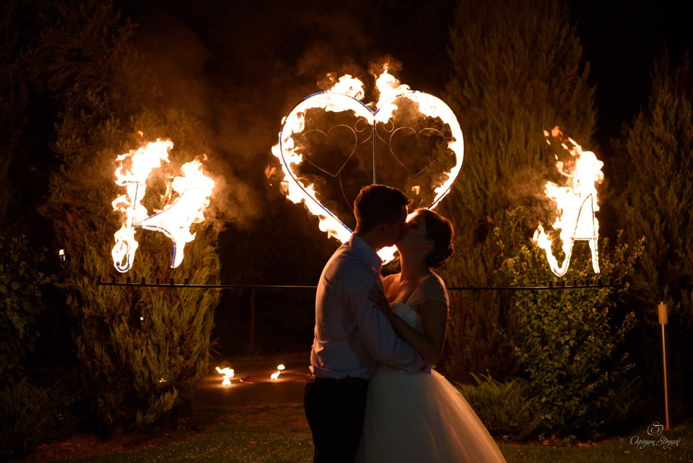 Сватба Експо хотел светлинно шоу